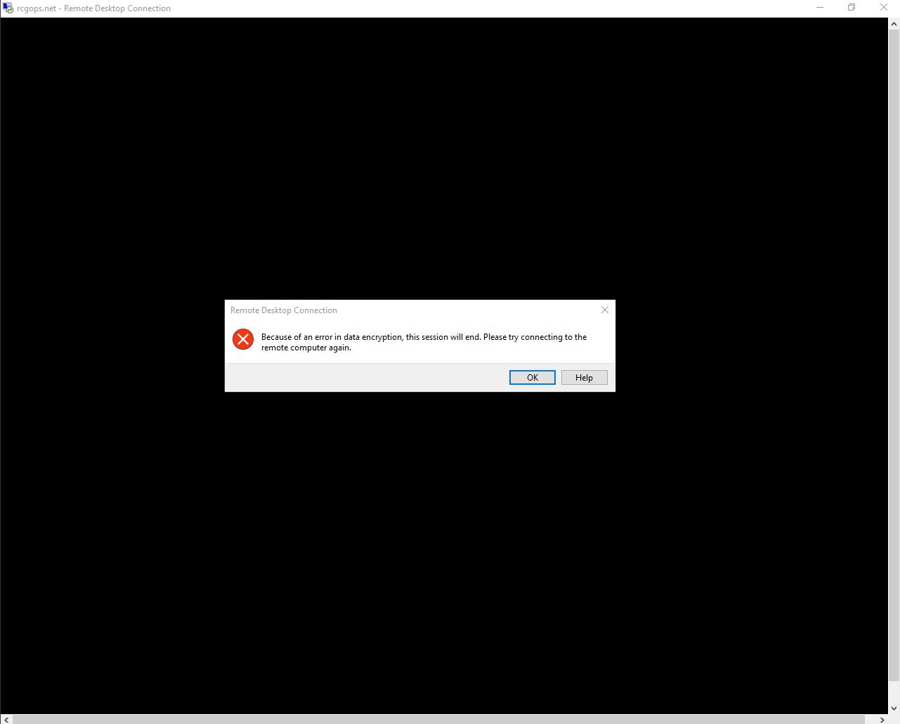 Remote Desktop Connection error with HT2000W - Page 5