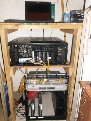 wiring closet prior to Gen5 install