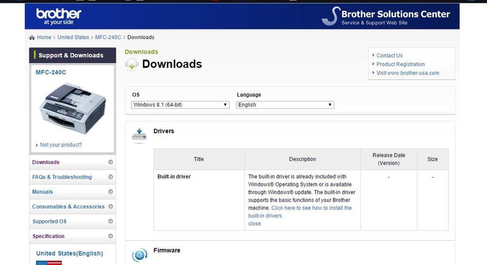 Printer problem   Brother MFC-240C - HughesNet Community - 75042