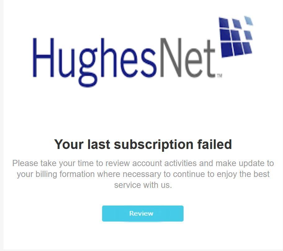 HughesNet Spam.JPG