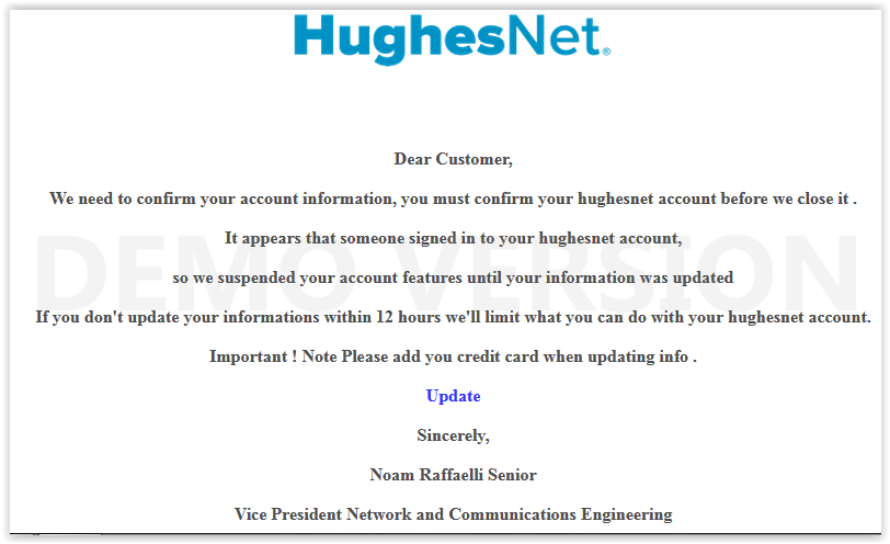 SCAM Hughesnet update info.PNG