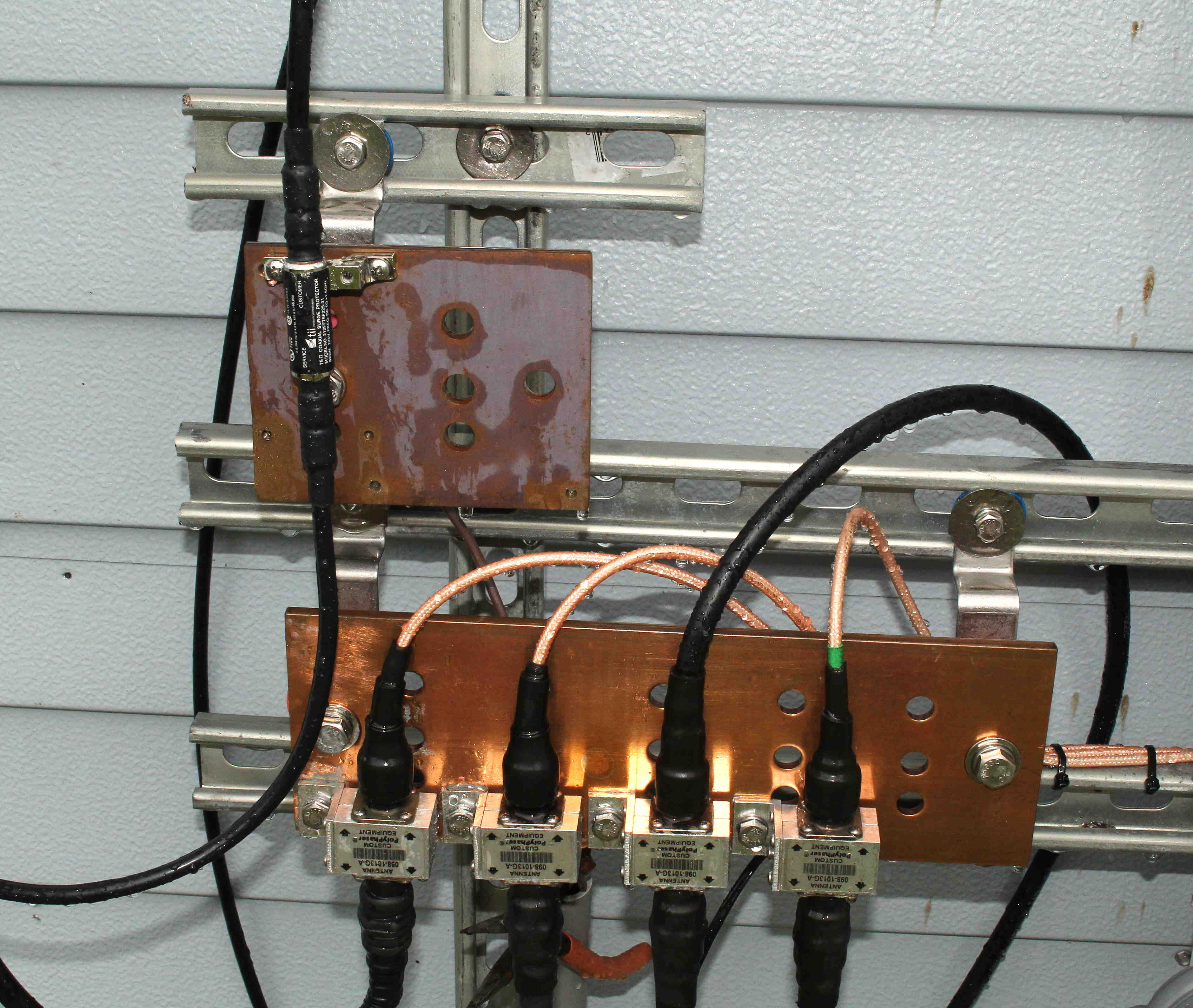 Need to know IF frequency used between antenna and... - HughesNet ...